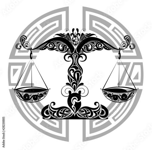 Zodiac Signs Libra Design