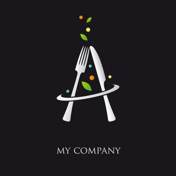 logo entreprise, logo cuisine, traiteur