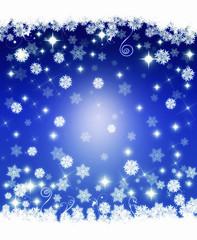 Sfondo di Natale blu