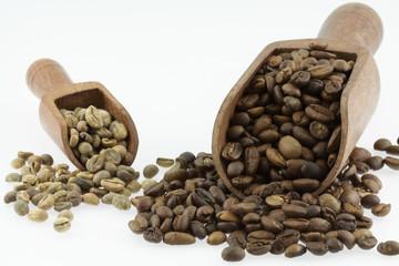 Canvas Prints Coffee beans grains de café