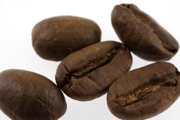 Canvas Prints Coffee beans des grains de café