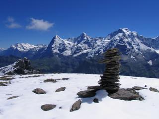 Swiss beauty,  Wetterhorn Eiger Munch Jungfrau