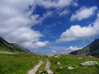 Poland beauty, High Tatras mountain path