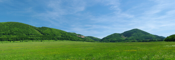 Photo sur Plexiglas Colline The hills