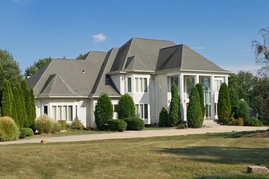 French Chateau Style Single Family House Suburban Philadelphia
