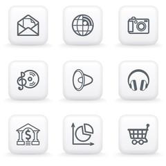 White button for web 5