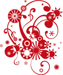 Weihnachtsschnörkel