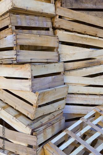 Cageot caisse bois march commerce r cup ration tri for Caisse en bois pour potager