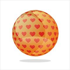 Esfera corazones