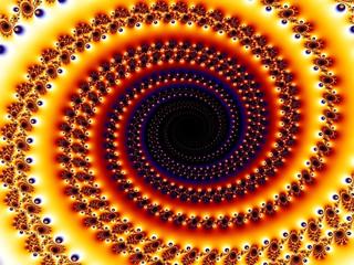 Spiral backdrop