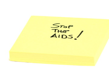 Stop the Aids!