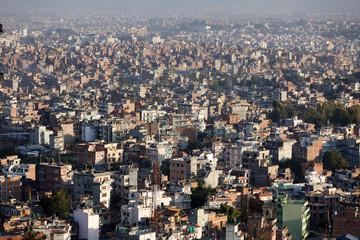 kathmandu cityscape, Nepal