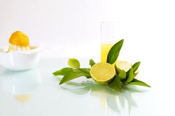 Zitronen und Limetten