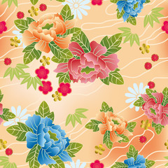 Seamless japanese traditional pattern