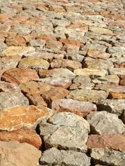 Strasse aus Stein