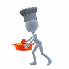 3D Chef Guy