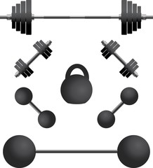 set of weights.third variant
