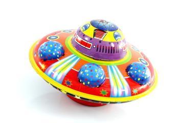 tin ufo toy