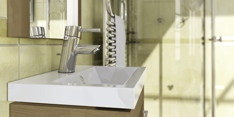 Bath design: Detail