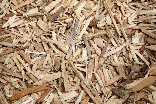 paillage en bois broyés