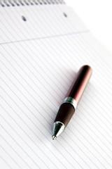 Kugelschreiber liegend