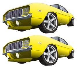 Muscle car CS4