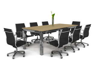 Set of office furniture