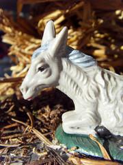 crèche santons de provence âne