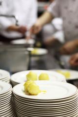 Work in a Restaurant Kitchen
