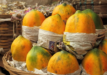 mango fruit on indian market