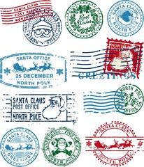 santa claus postmarks