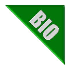 Dreieck grün BIO