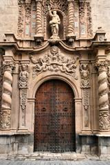 Old church in Orihuela, Spain