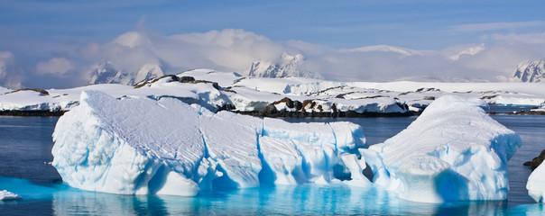 Huge iceberg in Antarctica