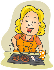 Grill Lady