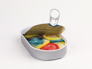 kondome in der Konserve