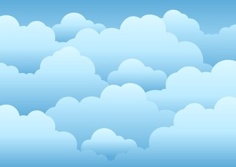 Cloudy sky background 1