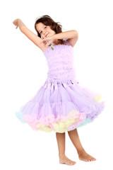 Little princess dancing