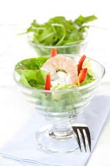 Appetizer mit Garnele