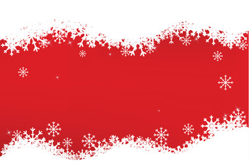 red christmas backgroudn vector