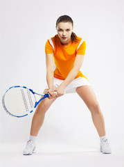 girl tennis player