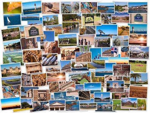 Collage de photos France