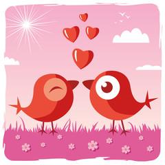 Love bird - Valentine's day