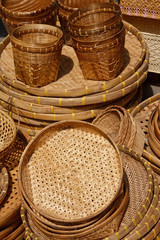 Native Thai style basketry