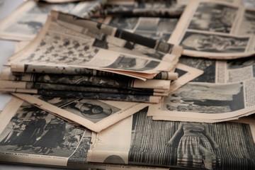 Photo sur Aluminium Journaux Old newspapers