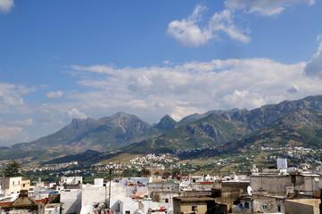 Tetouan Maroc - Vue des toits