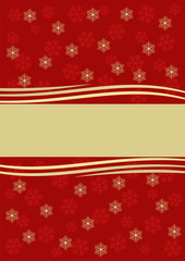 Red festive background