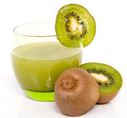 jus de kiwi et fruits