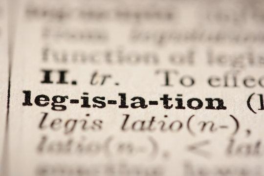 Word legislation