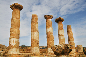 Temple of Heracles - Greek temple in Agrigento, Sicily